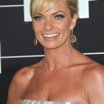 Jaime Pressly came by The View to talk about her new show Jennifer Falls, being a single mother, and the connection she has with View co-host Jenny McCarthy. (Featureflash / Shutterstock.com)