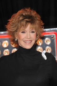 Jane Fonda will come by Ellen on December 16, 2014, to talk about re-releasing her old workout videos.(Featureflash / Shutterstock.com)