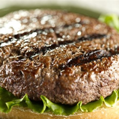 Rachael Ray: Deviled Burgers Recipe, Onion Rings + Sriracha Ketchup