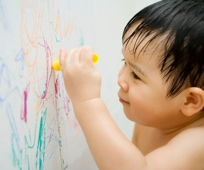 The Revolution: How To Remove Crayon From Walls