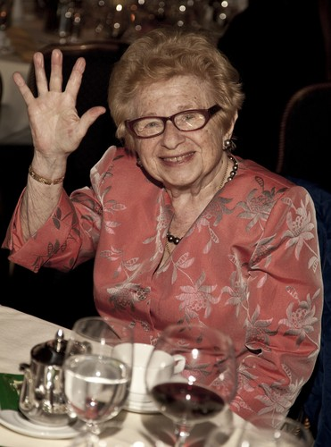 Dr. Ruth Westheimer has been a sex educator for six decades, and she loves ...