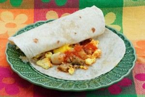 The Revolution: Healthy Breakfast Burrito