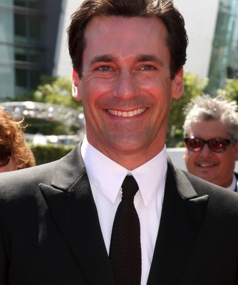 Jon Hamm joined Mario Batali in the kitchen to make a special Soft Shell Crab Po'Boys recipe and to talk about his upcoming film, Million Dollar Arm, which opens May 16. (Image Credit: Helga Esteb / Shutterstock.com)