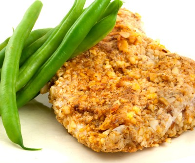 Dr Oz: Almond Crusted Chicken Recipe & Burt's Bees Foot Creme Review