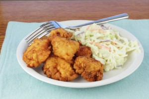 Dr Oz: Healthy Fried Chicken & Coleslaw