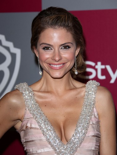 Dancing With The Stars partners Maria Menounos & Derek Hough talked about ...