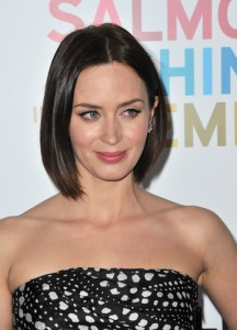 Actress Emily Blunt will come by Ellen May 14, 2014 to talk about her new film Edge Of Tomorrow. (Featureflash/Shutterstock.com)