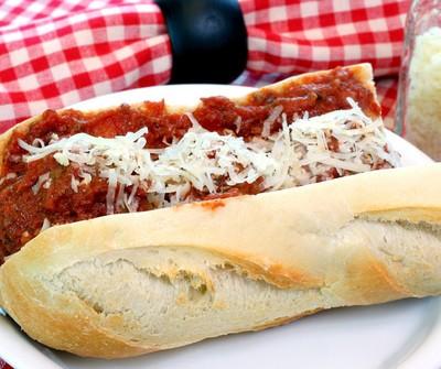 The Chew: Veal Parmigiana Hero Recipe