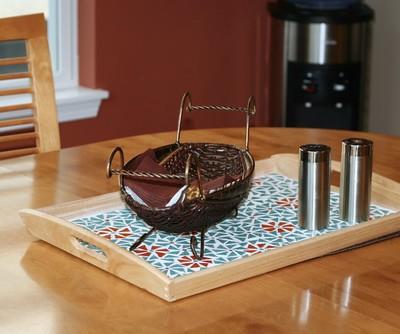 Clinton's Craft Corner Mosaic Tray