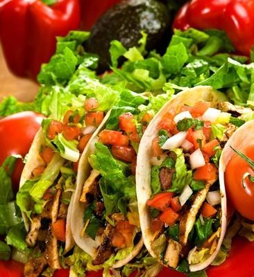 The Chew: Daphne's Fridge Raider Chicken Tacos Recipe