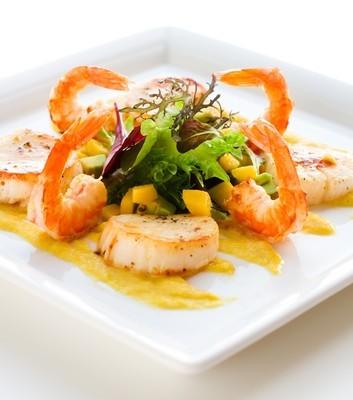 The Talk: Jet Tila Mango Thai Shrimp Salad Recipe & Pork Jerky
