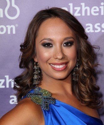 Dancing With The Stars's Cheryl Burke came by Ellen to help her play a game called Beats Me, That's A Humdinger. (s_bukley / Shutterstock.com)