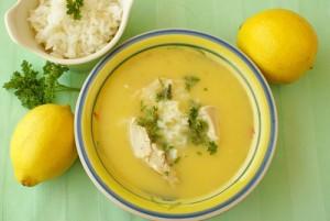 Egg and Lemon Soup (Greek Penicillin)