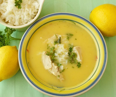 Egg and Lemon Soup (Greek Penicillin)