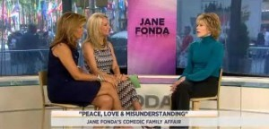 Kathie Lee and Hoda sit down with Jane Fonda to discuss her new film, Peace Love & Misunderstanding