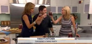 Kathie Lee and Hoda head over to Today's Kitchen to cook some hero food with Seamus Mullen.