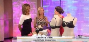 Kathie Lee and Hoda talked with Bobbie Thomas about some inventive lingerie to help keep your assets where they belong like Joey Bras & more
