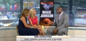 Kathie Lee & Hoda talked with NBA legend Magic Johnson about his latest project, where he is set to launch his own TV network called Aspire