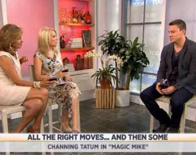 Kathie Lee and Hoda talked with Channing Tatum, star of the new movie Magic Mike, about the movie, the cast and his Today Show flash mob.