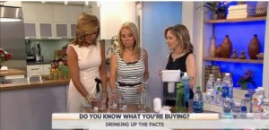 Kathie Lee and Hoda talk with Madelyn Fernstrom, Today Diet and Nutrition Expert, about tap versus bottled water, flavored versus sparkling.