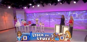 Kathie Lee & Hoda talked with Sharon Epperson on whether to buy stock or stuff from Target, Coach, Barnes & Noble and more.