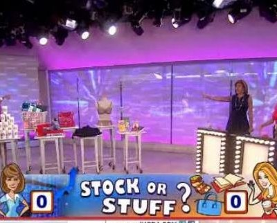 Kathie Lee & Hoda talked with Sharon Epperson on whether to buy stock or keep the products from Target, Coach, Barnes & Noble and many more