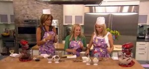Kathie Lee and Hoda head to Today's Kitchen with Tara Bench to discuss recipes to make your own ice cream at home with the kids.