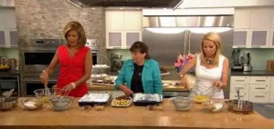 Kathie Lee and Hoda were joined by Connie Weis, of Brownies & S'More, as she cooked Hoda's favorite brownies: peanut butter cup brownies.