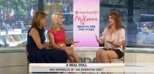 Kathie Lee and Hoda talked with Nia Vardalos about her latest movie, An American Girl: McKenna Shoots for the Stars, life as a Mom & her co-stars.