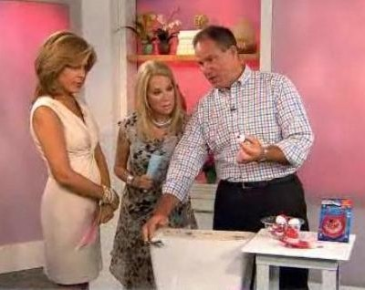Kathie Lee & Hoda are joined by Lou Manfredini as he answered home repair questions, including fixing toilet & Gonzo Odor Eliminator reviews