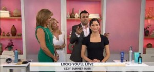 Kathie Lee & Hoda talked with Aren Gurov, celebrity stylist, about the hot summer hairstyles 2012, including the high bun, wet look and more