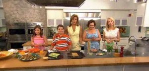 Kathie Lee and Hoda share the kitchen with Karine Bakhoum, judge on Iron Chef, as she shares a Cilantro Crusted Chicken Tenderloins recipe.