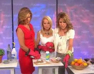 Kathie Lee and Hoda talked with Julie Edelman, author of The Ultimate Accidental Housewife, who shared tips for getting rid of summer bugs