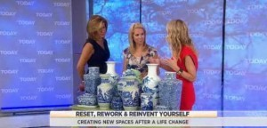Kathie Lee & Hoda welcomed Chassie Post to the studio with tips on reinventing your home after some big life changes, like Zig Zag Ottomans