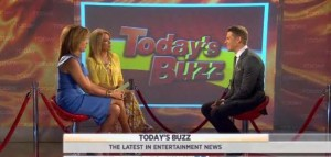 Kathie Lee and Hoda discuss Today's Buzz with Jason Kennedy including the Chris Brown Drake bar fight, Lindsay Lohan is exhausted and more.