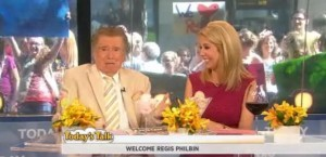 Regis & Kathie Lee June 20 2012 reunited after 12 years to talk about wine pairings for summer parties, dynamic duos trivia & more