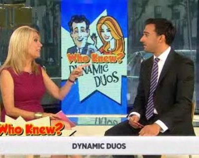 In honor of Kathie Lee & Regis co-hosting together again, Who Knew? Trivia is all about dynamic duos in entertainment history.