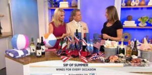 Kathie Lee & Regis talk with Alyssa Rapp, co-founder of Bottlenotes, about wine pairings for your summer parties, including Gloria Ferrer
