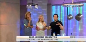 Kathie Lee Gifford, Hoda Kotb and Frank Fontana show us do-it-yourself tips to turn your junk into stylish decor.