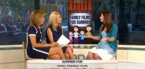 Kathie Lee and Hoda discuss family-friendly summer movies with Tara McNamara, Family Film Mom for Fandango