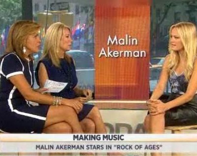Kathie Lee and Hoda interview Malin Akerman, one of the stars of the new movie Rock Of Ages