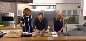 Kathie Lee and Hoda welcome Bill Telepan into the Today Show Kitchen as he prepares soft-shell crabs, braised asparagus and herb aioli