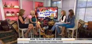 Kathie Lee and Hoda discuss how to make money from home with the Junk Gypsies, Amie and Jolie Sikes