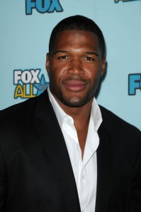 Michael Strahan: Live With Kelly June 22 2012