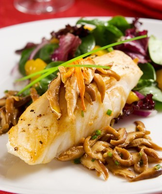 The Talk Food Fest: Steve Samson Crisp-Skinned Black Sea Bass Recipe