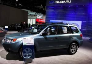 Ellen: Subaru Forester Giveaway