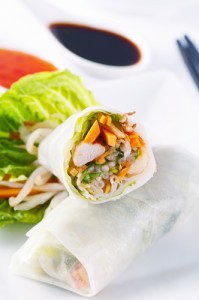 Thai Chicken Spring Rolls Recipe: Live With Kelly