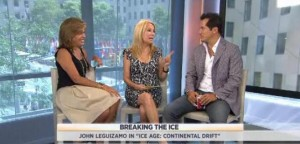 Kathie Lee and Hoda talked with John Leguizamo about his new movie, Ice Age 4: Continental drift, learning the voice for the role and more.