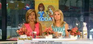 Kathie Lee & Hoda filled the July 2 2012 hour with Tanya Holland recipes, advice for empty nesters, Tom & Katie divorcing and much more.
