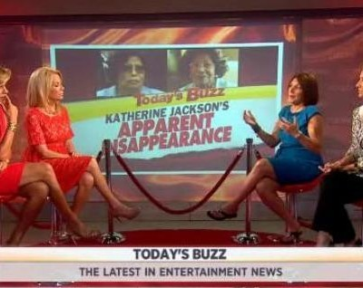 Bonnie Fuller and Roseanne Colletti discussed Today's Buzz, including news of Katherine Jackson missing and The Dark Knight Rises news.